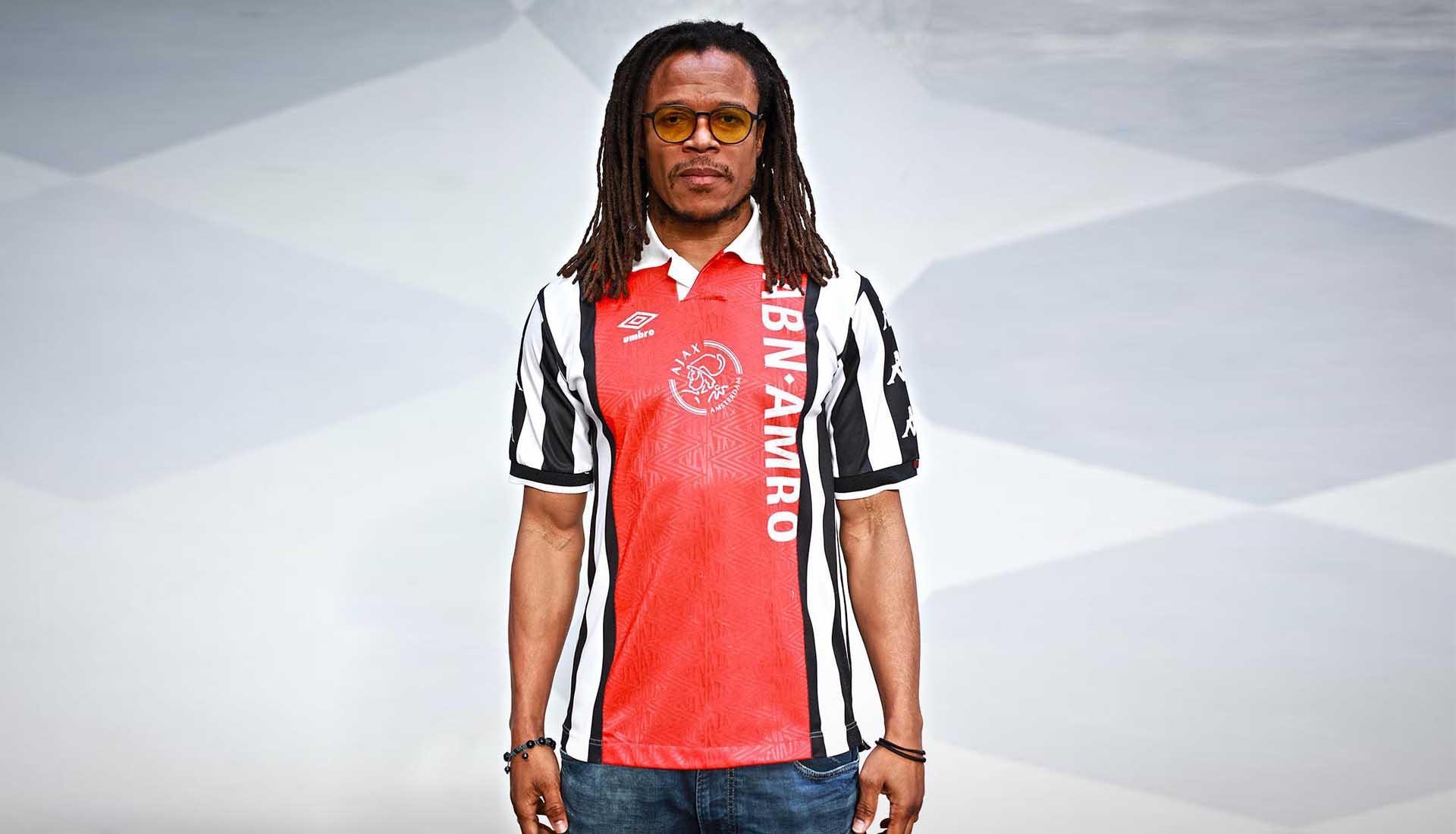c7894a76d06 Edgar Davids Receives Custom Juventus x Ajax Jersey - SoccerBible