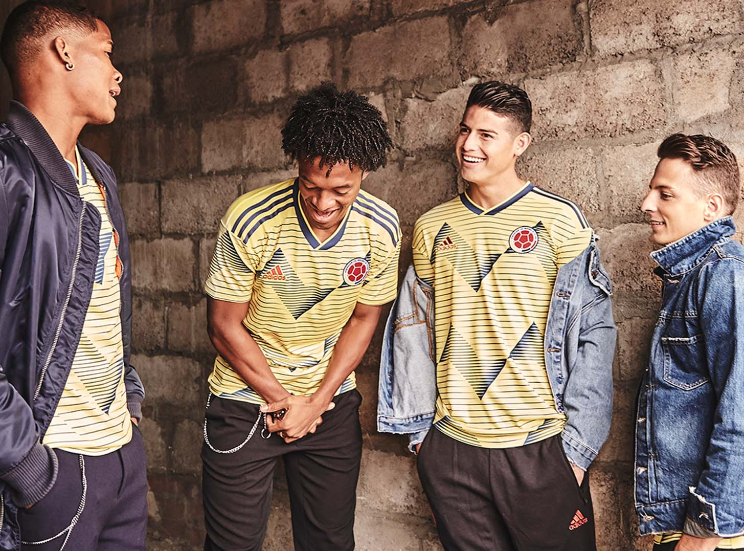 11d55fb6b04 adidas Unveil Colombia 2019 Copa America Home Shirt - SoccerBible