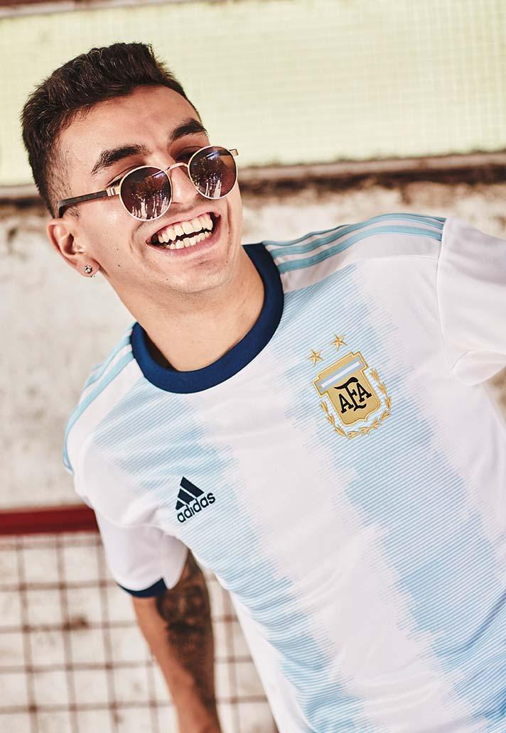 462da8235e7 adidas Unveil Argentina 2019 Copa America Home Shirt - SoccerBible