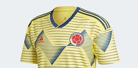 11109d5d8 adidas Unveil Colombia 2019 Copa America Home Shirt - SoccerBible