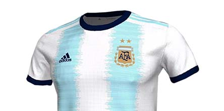 873eb5076 adidas Unveil Argentina 2019 Copa America Home Shirt - SoccerBible