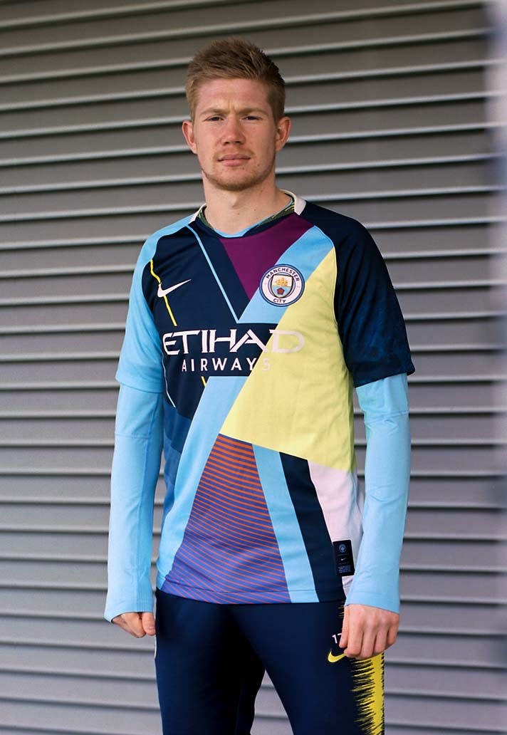 0b53bf469aa Nike Launch Manchester City Mash-Up Shirt - SoccerBible
