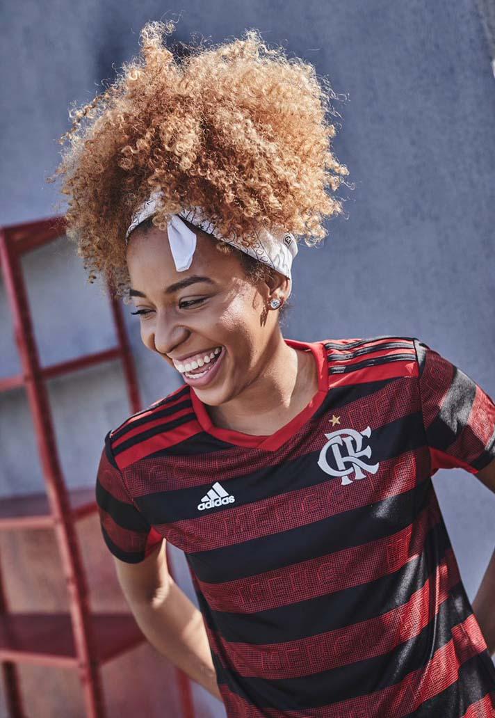d7134d49b adidas Launch Flamengo 2019 Home Shirt - SoccerBible
