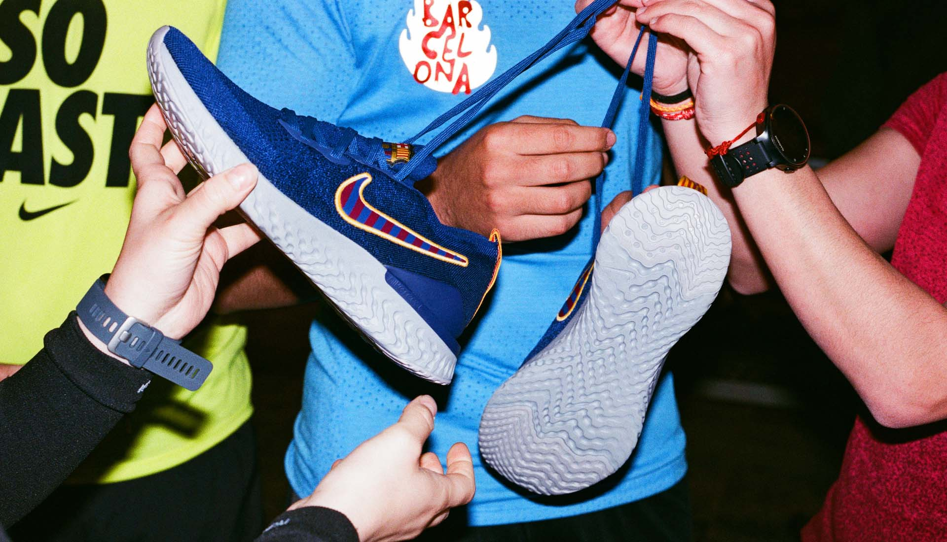 Nike & Sergi Roberto Launch The Epic React Flyknit 2 Pack by