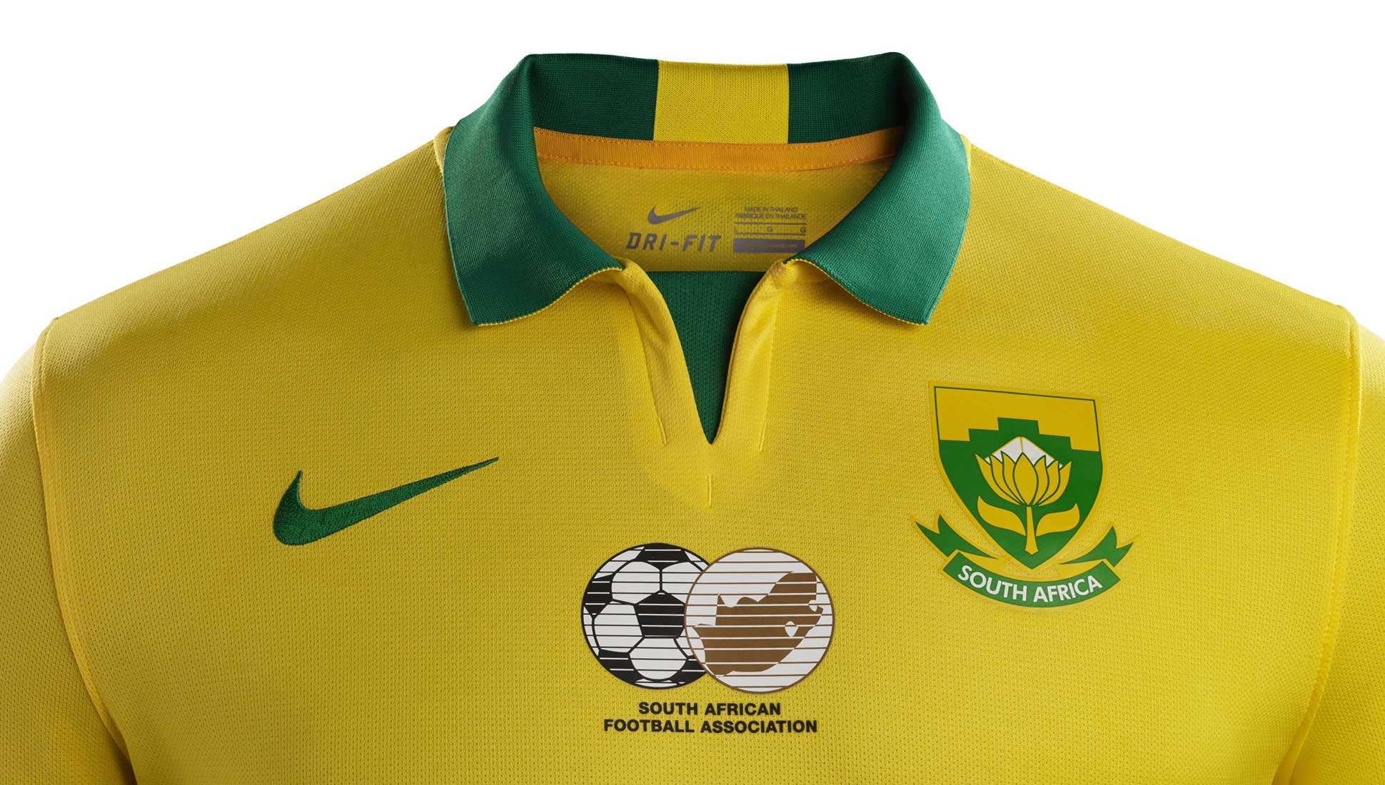 c187e56d043 Nike Unveil South Africa 2015 Kits - SoccerBible