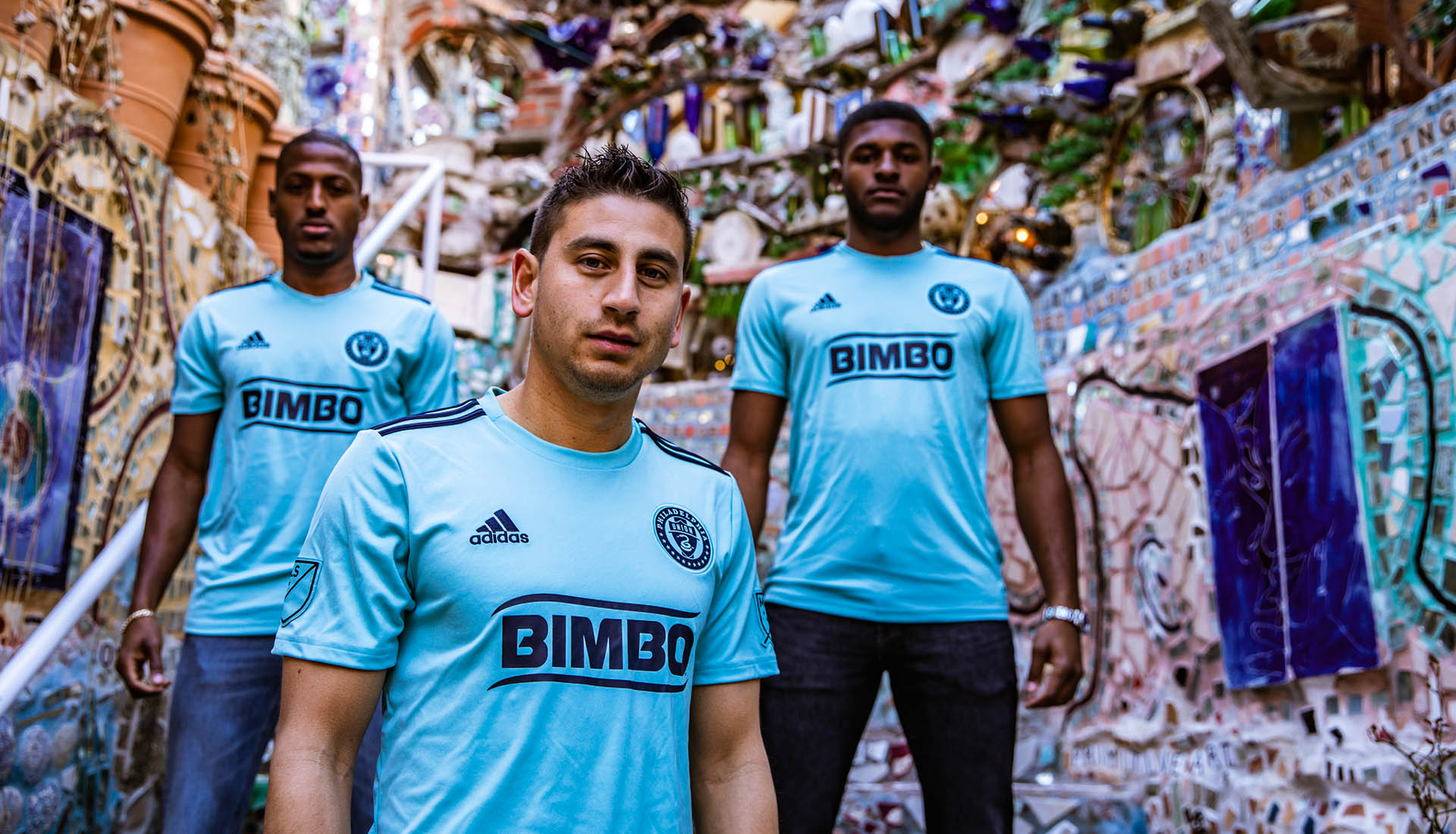 best loved 02fa9 72a34 Philadelphia Union Launch 2019 Parley x adidas 3rd Jersey ...