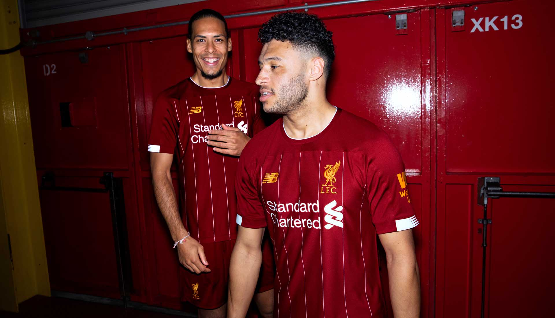 check out d513b 69ba9 New Balance Launch Liverpool 19/20 Home Shirt - SoccerBible