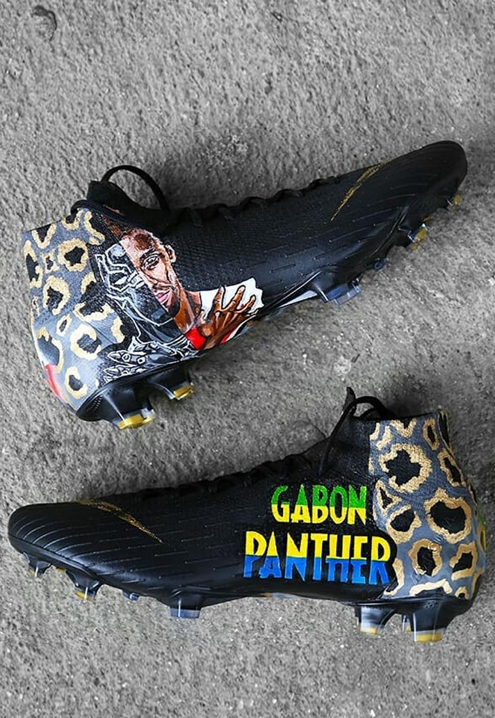 43dbc78243187 Aubameyang Receives Custom Mercurial Superfly by SWithADot - SoccerBible.