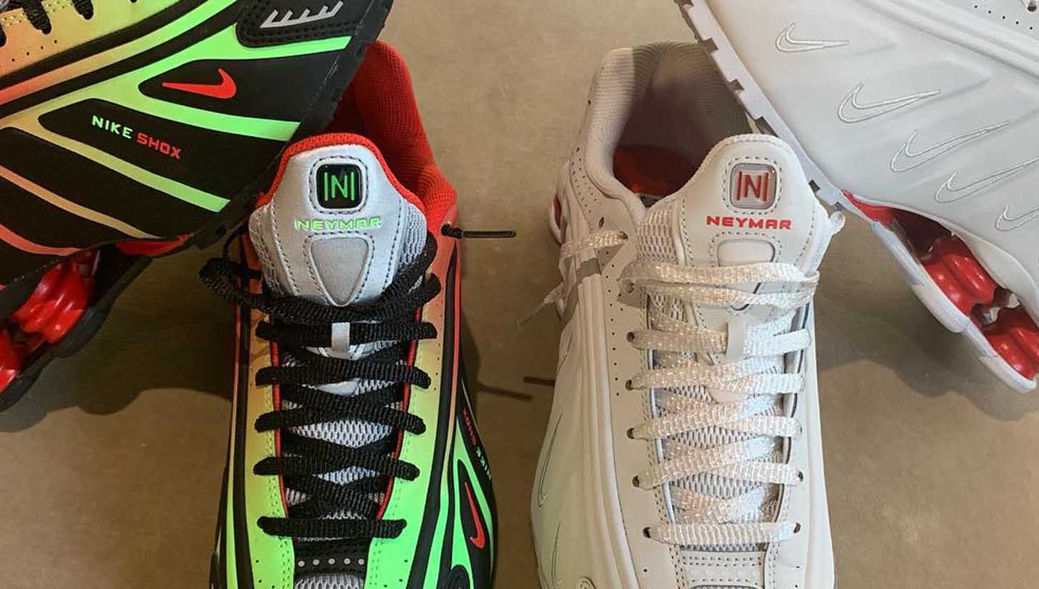 f945536a8622 Neymar Teases Signature Nike Shox R4 Collection - SoccerBible.