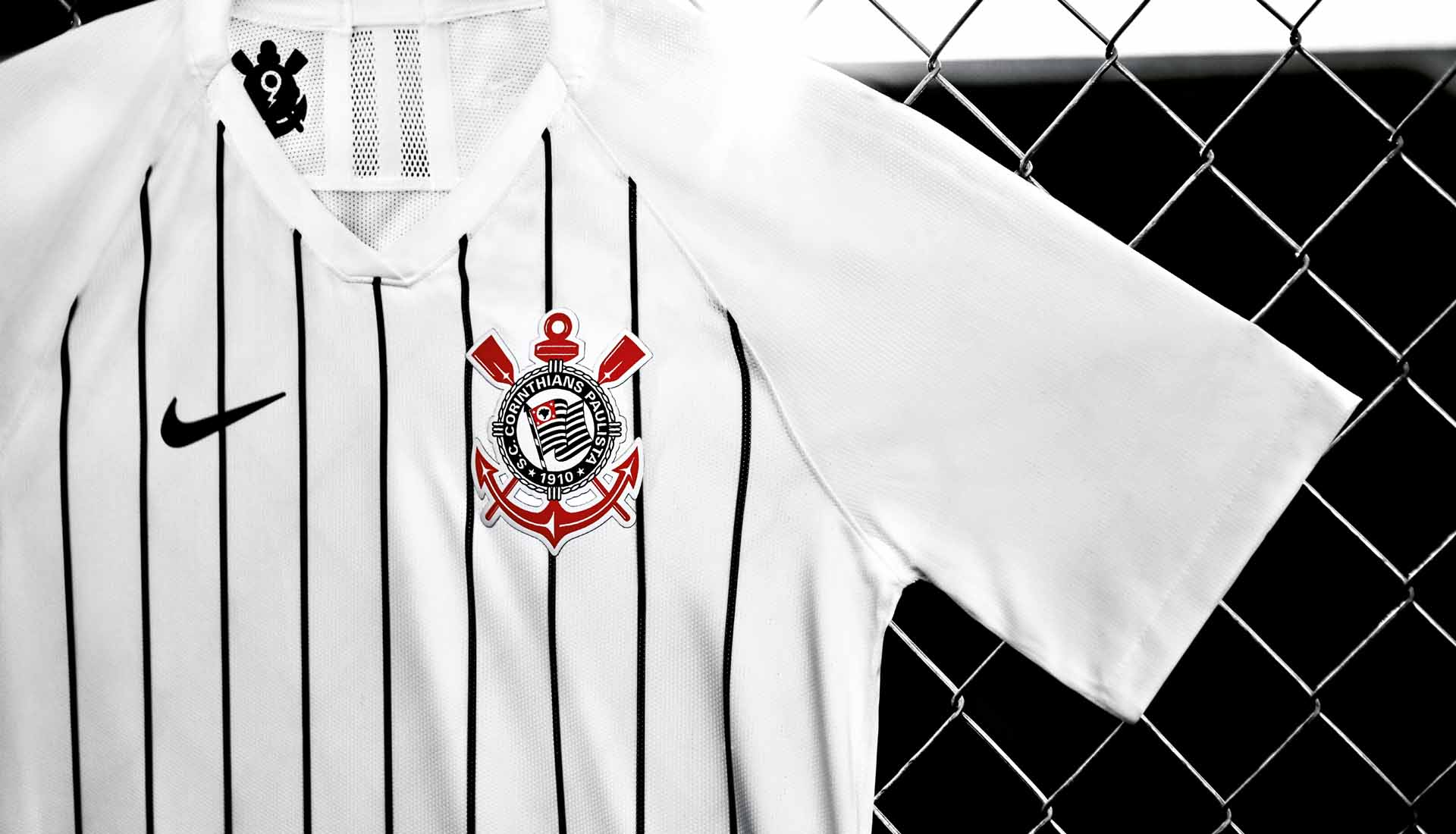 on sale bfbbb e1719 Corinthians Launch Nike 2019/20 Home Shirt Inspired By El ...