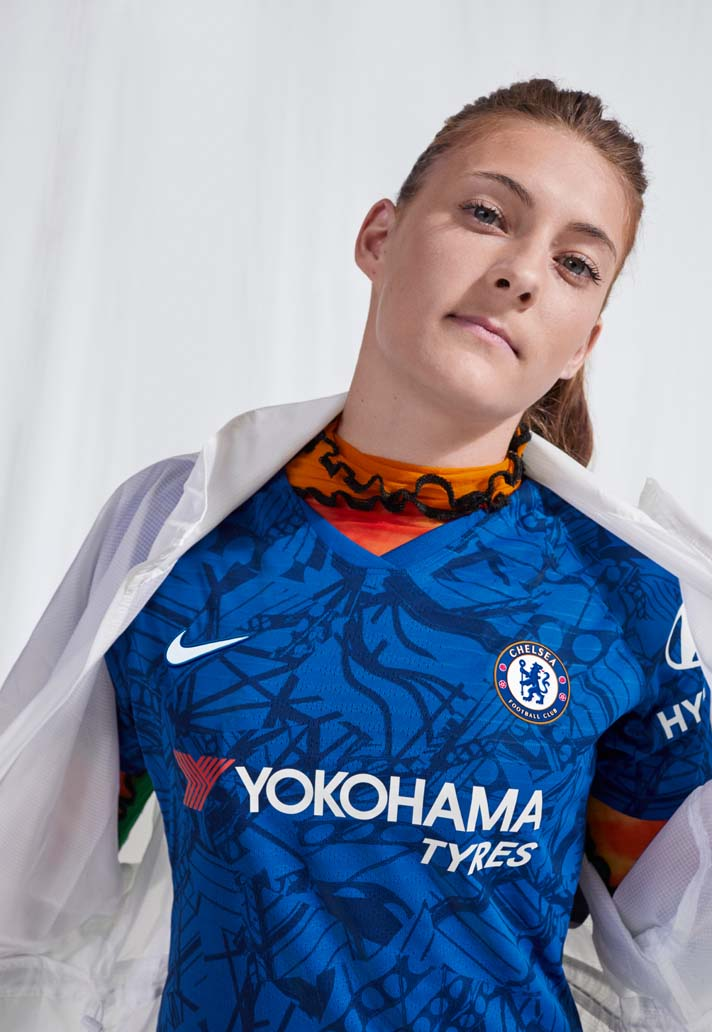 Nike Launch Chelsea 201920 Home Shirt SoccerBible