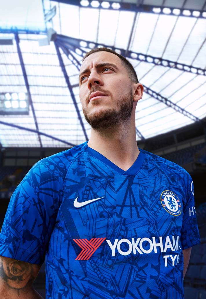 Nike Launch Chelsea 2019 20 Home Shirt Soccerbible