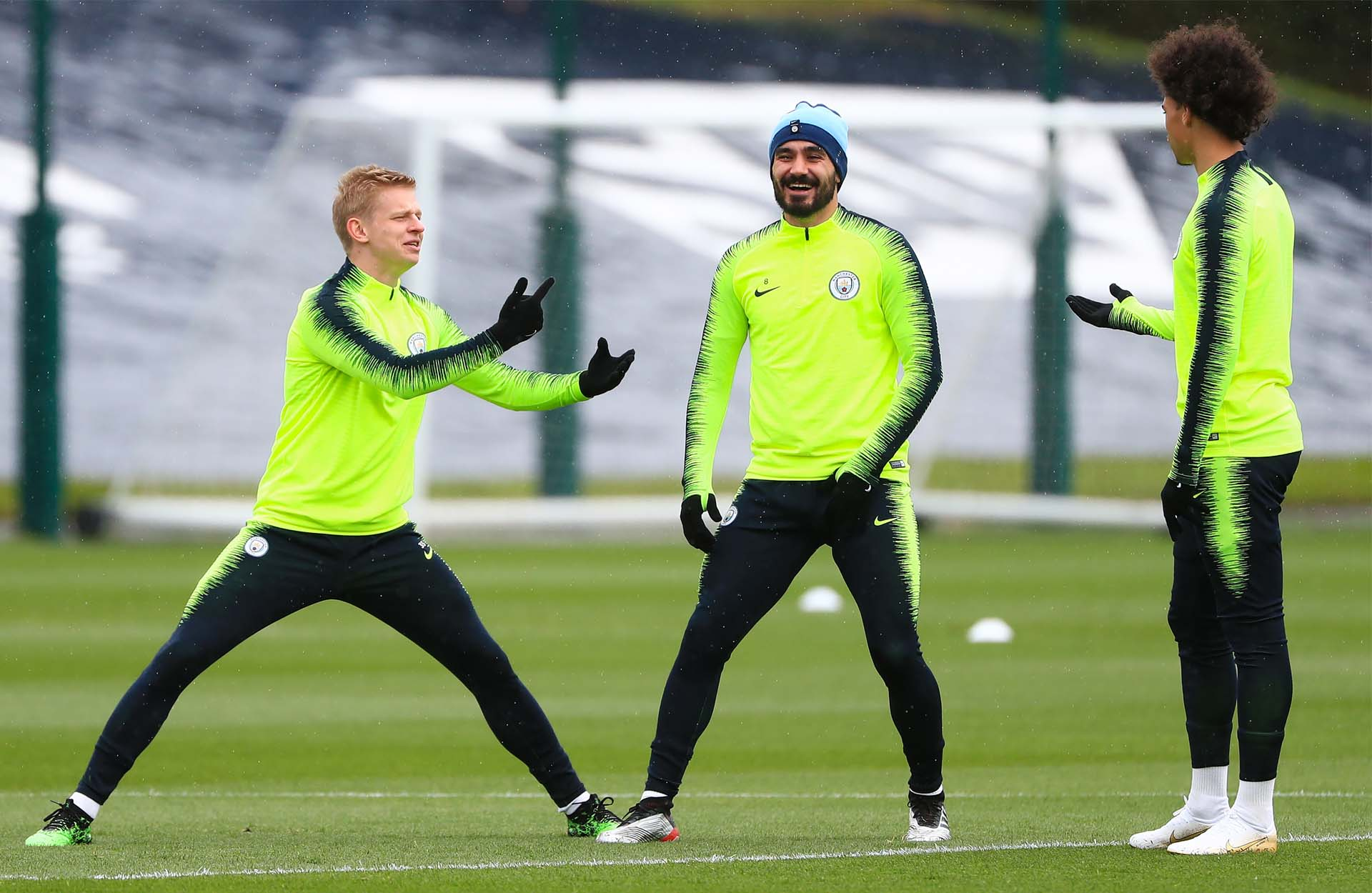 Leroy Sane Trains In Special Edition
