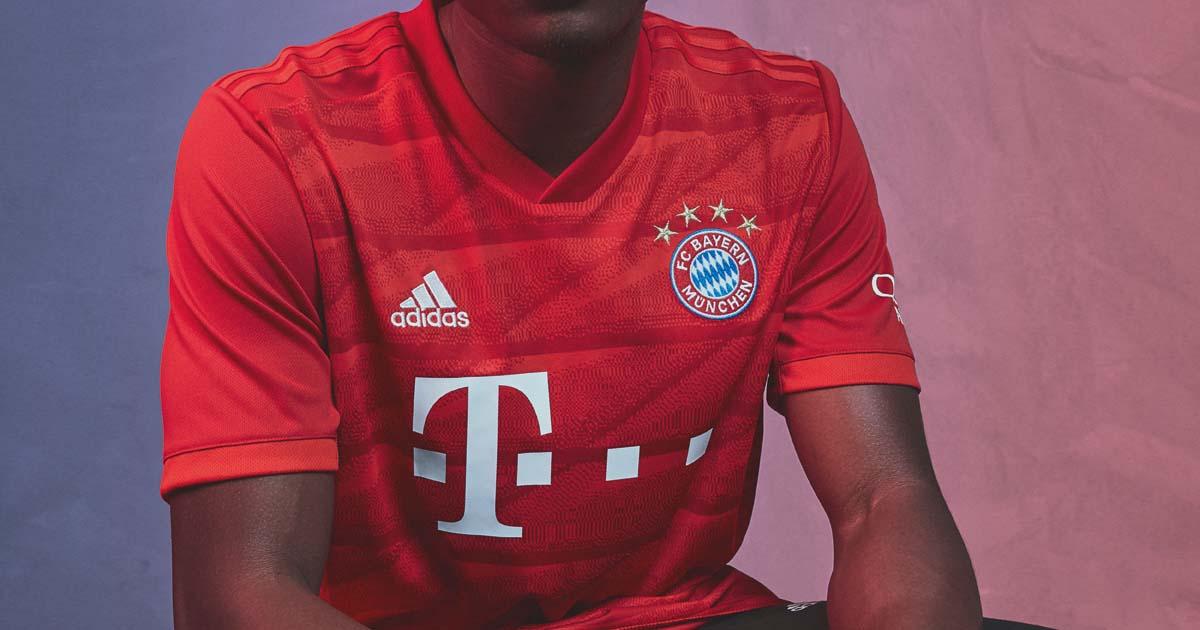 official photos 43cc5 8d558 adidas Launch Bayern Munich 2019/20 Home Shirt - SoccerBible