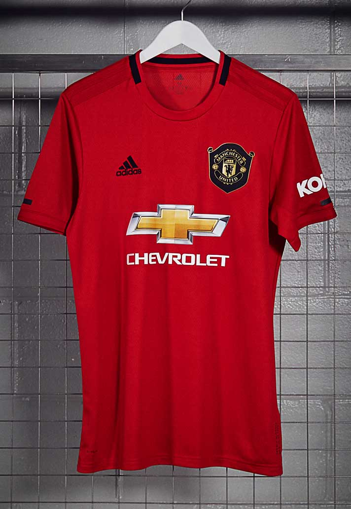 1879e97e25d adidas Unveil Manchester United 2019/20 Home Shirt - SoccerBible