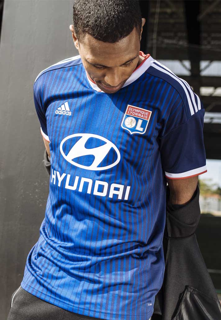 ff950268 adidas Launch Lyon 2019/20 Home And Away Shirts - SoccerBible