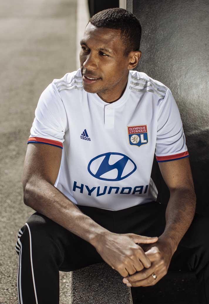 57ffa1033e4 adidas Launch Lyon 2019/20 Home And Away Shirts - SoccerBible