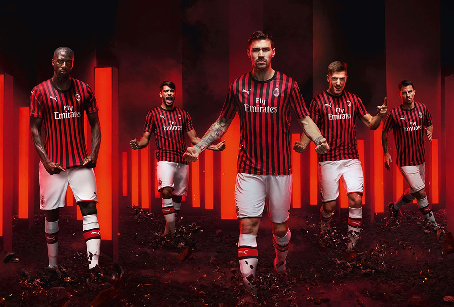 PUMA Launch AC Milan 2019/20 Home Shirt - SoccerBible