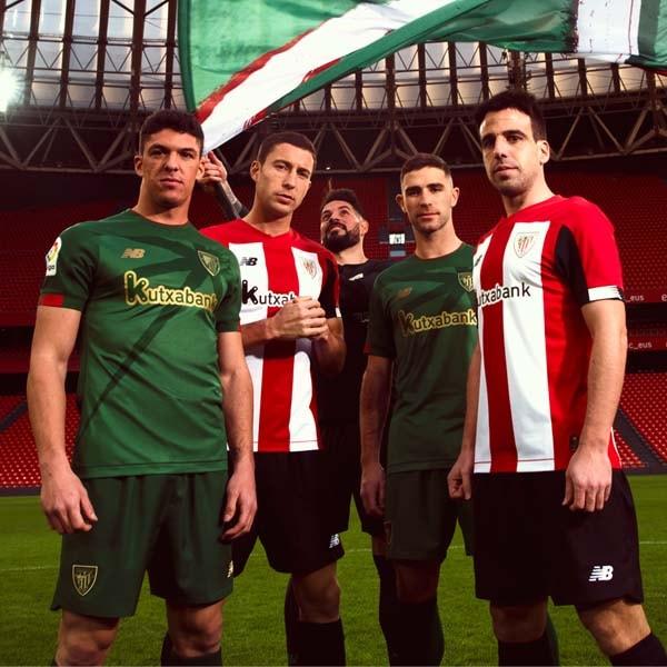 65002c27 New Balance Launch Athletic Bilbao 2019/20 Home & Away Shirts