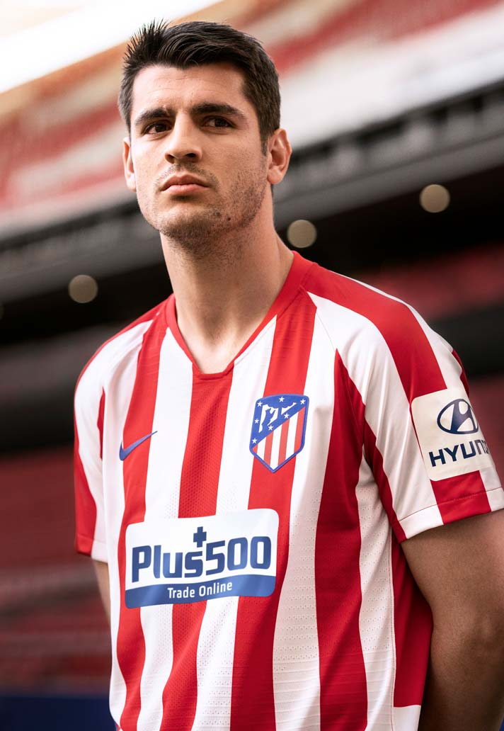 Nike Launch Atletico Madrid 2019 20 Home Shirt Soccerbible