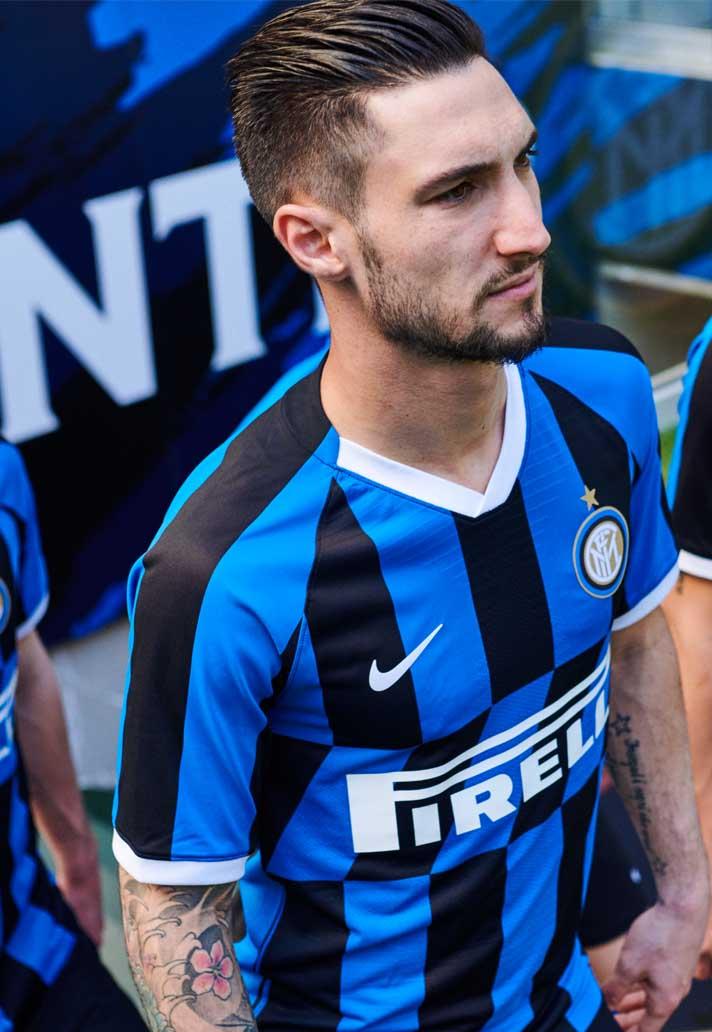 huge discount 031d5 e9e2e Nike Launch Inter Milan 2019/20 Home Shirt - SoccerBible