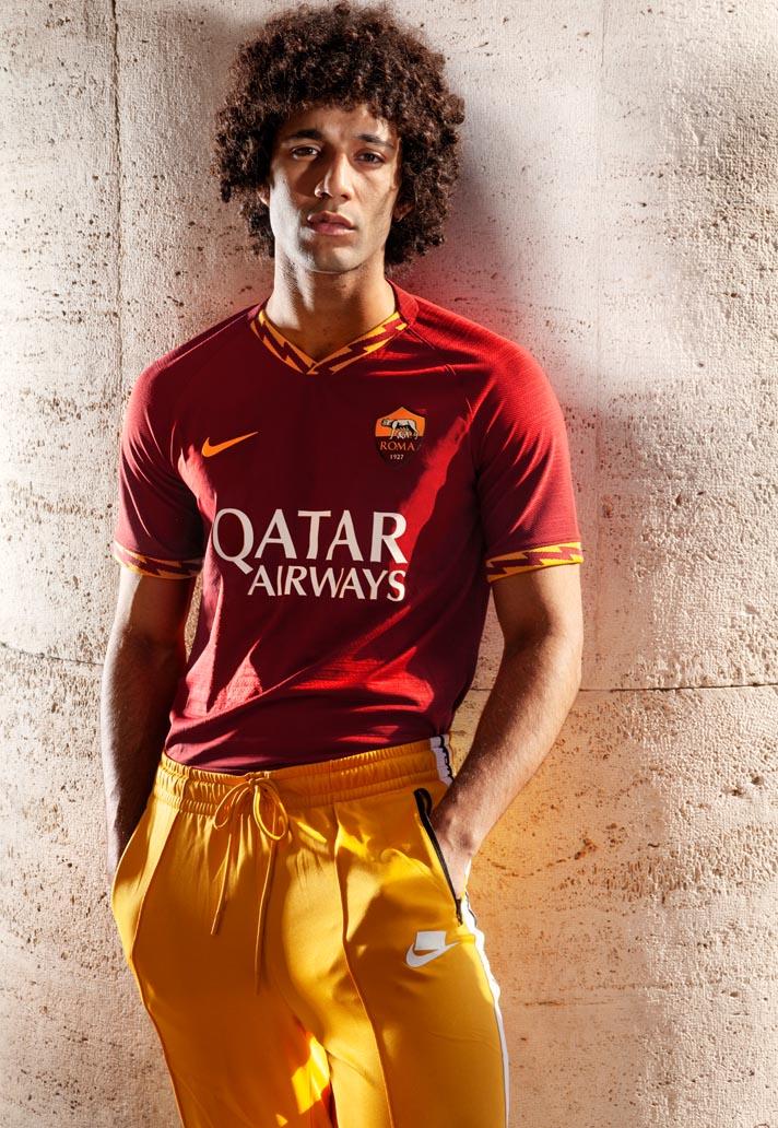 e80357e74 Nike Launch AS Roma 2019/20 Away Shirt - SoccerBible