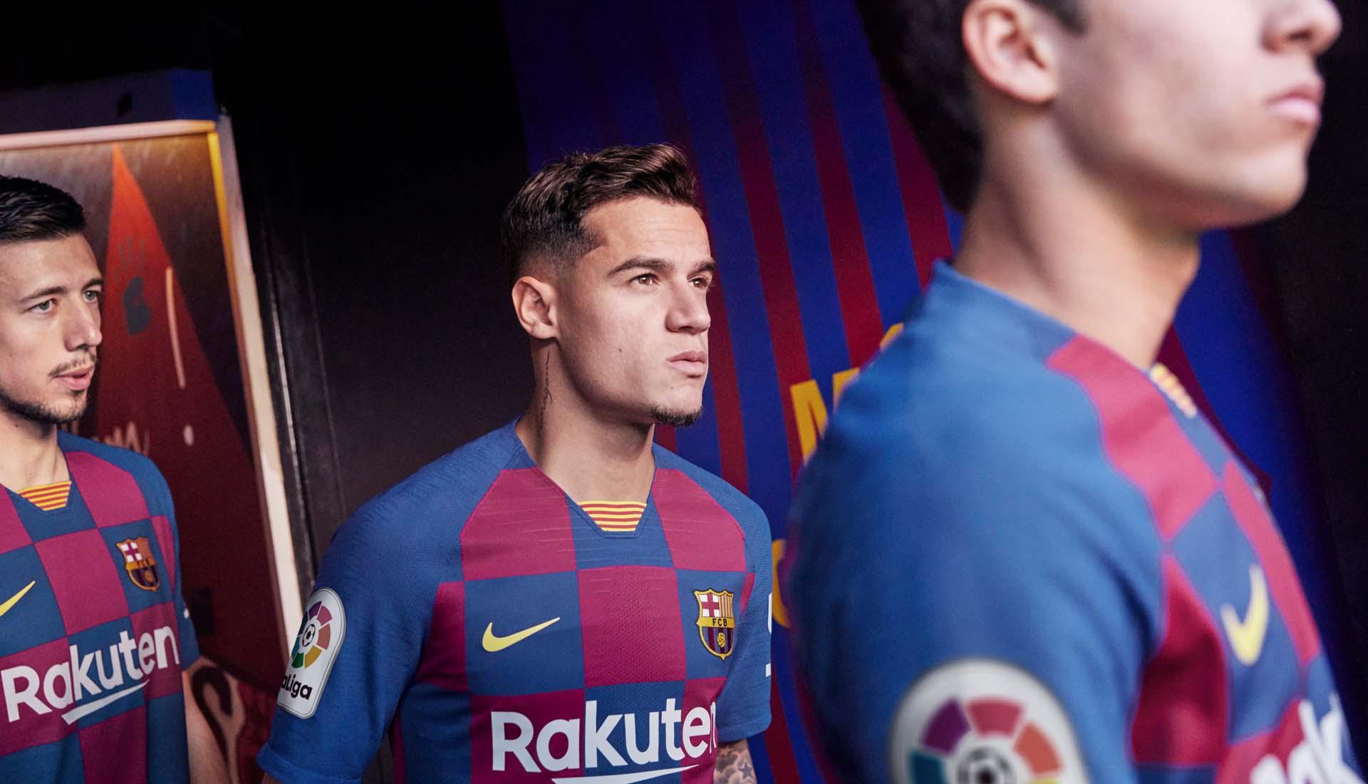 Nike Launch Barcelona 2019 20 Home Shirt Soccerbible
