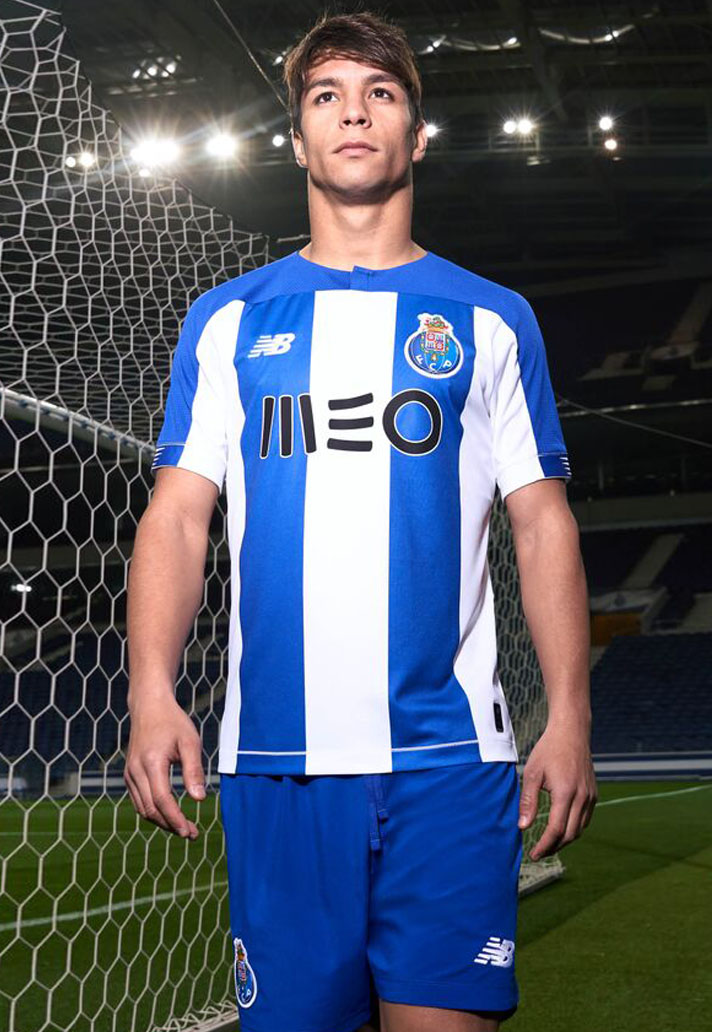 brand new fbb1a 6eab7 New Balance Launch FC Porto 2019/20 Home Shirt - SoccerBible