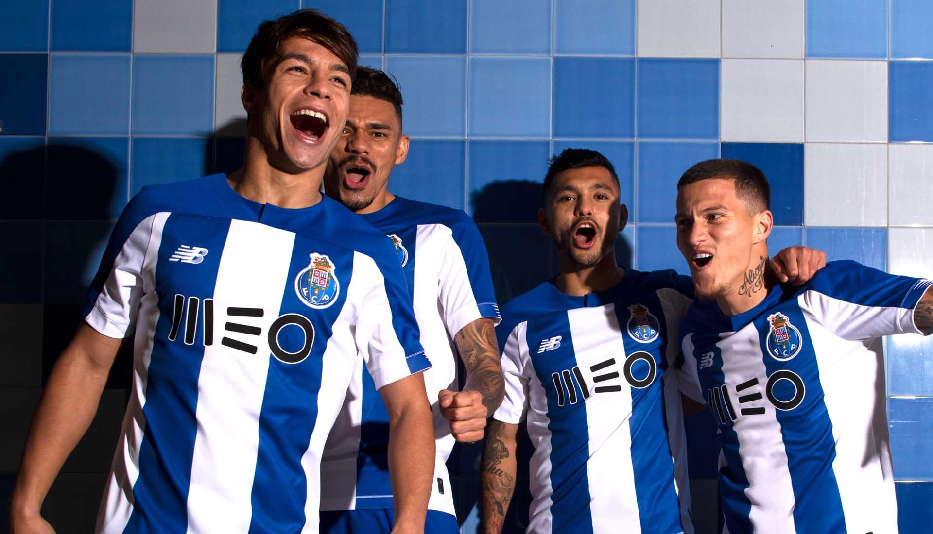 brand new 44dfa f2bd2 New Balance Launch FC Porto 2019/20 Home Shirt - SoccerBible