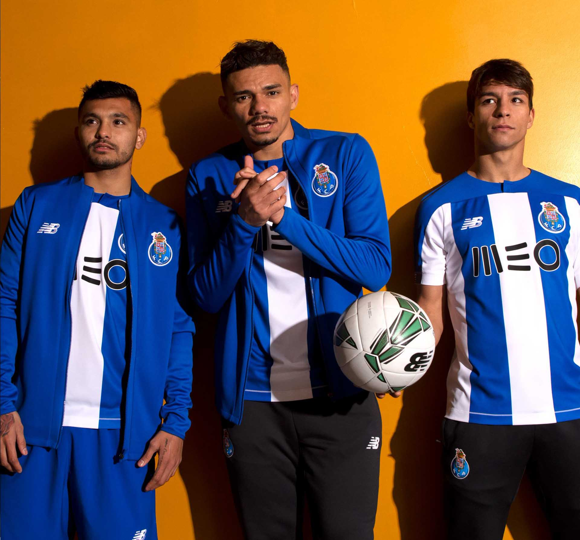 brand new 59b4e 29a58 New Balance Launch FC Porto 2019/20 Home Shirt - SoccerBible