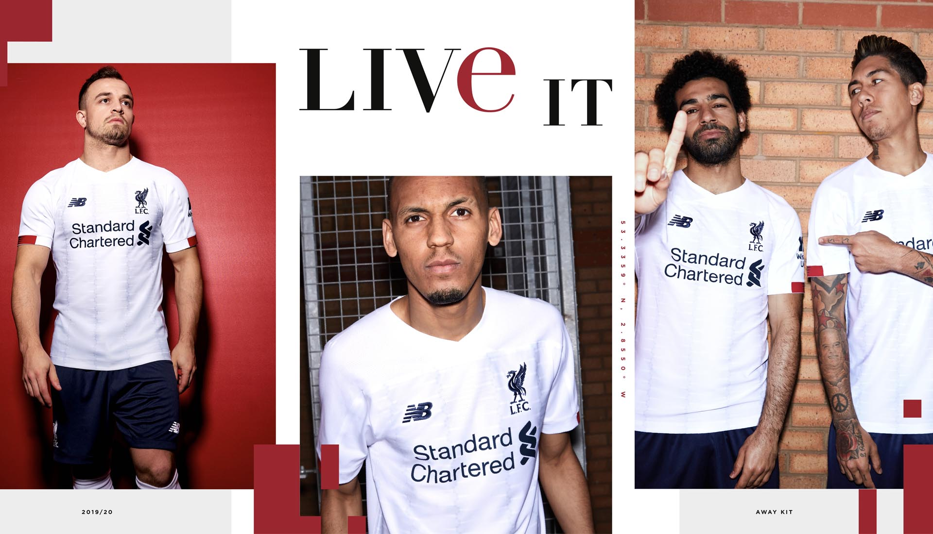 2c0f44fa New Balance Launch Liverpool 19/20 Away Shirt - SoccerBible