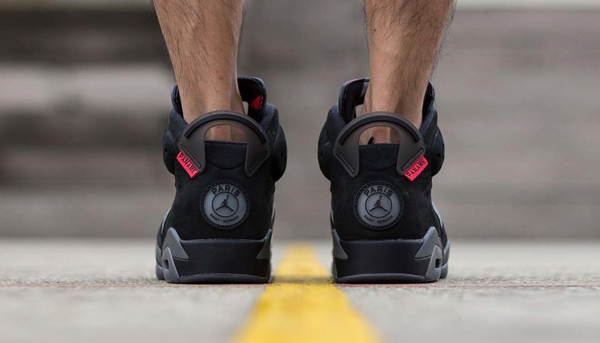 reputable site 18c12 9b07b Closer Look at the Paris Saint-Germain x Air Jordan 6 ...