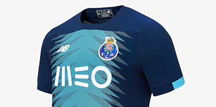 best loved 31fd8 82a8d New Balance Launch FC Porto 19/20 Third Shirt - SoccerBible