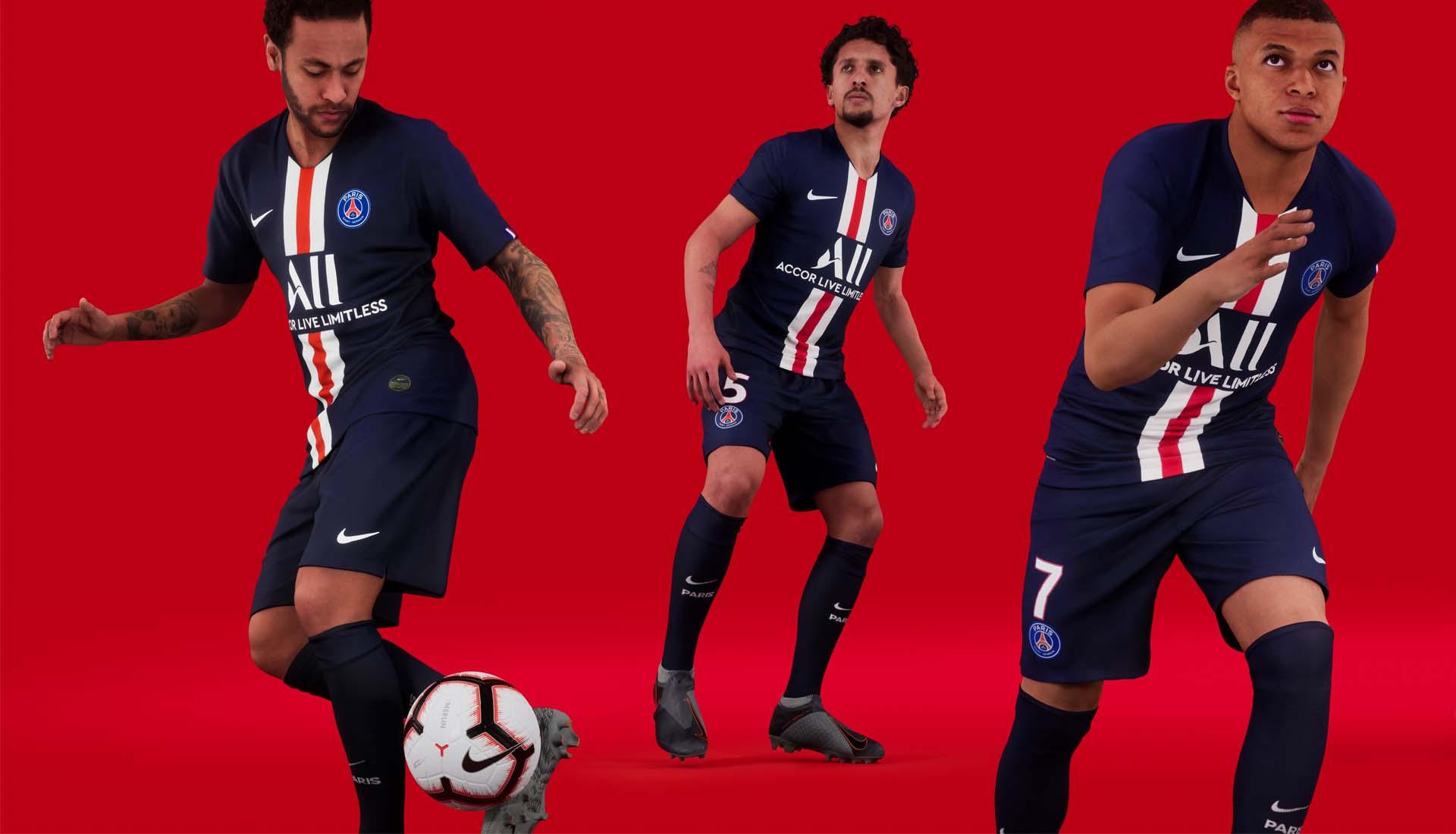quality design e32e4 eee38 Nike Launch PSG 2019/20 Home Shirt - SoccerBible
