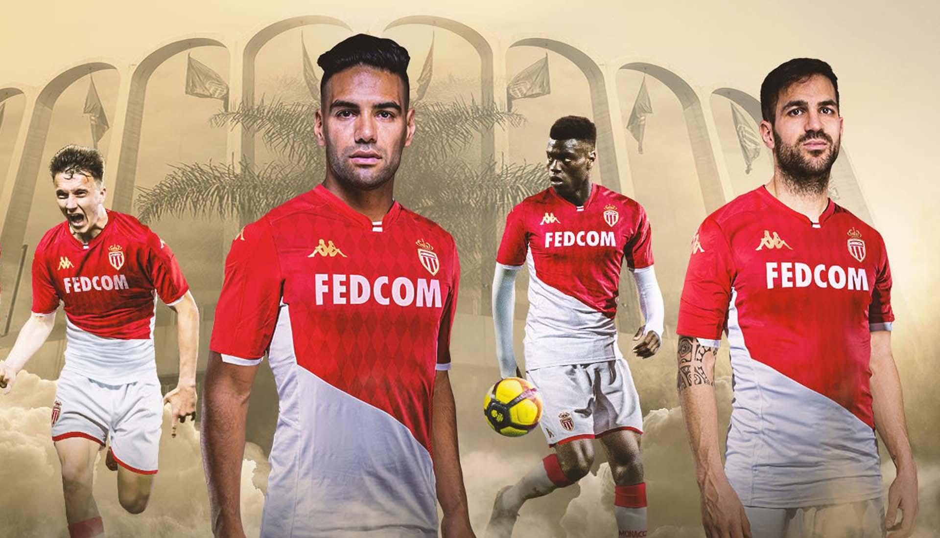 hablar Partina City Algún día  Kappa Unveil Monaco 2019/20 Home Shirt - SoccerBible
