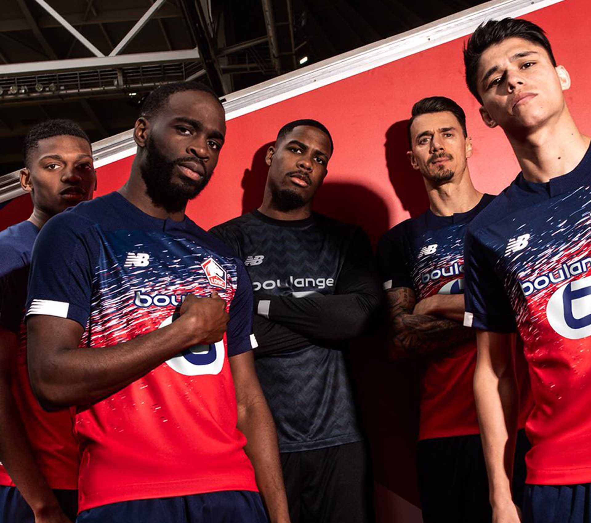 the best attitude c96cd 44e85 New Balance Launch Lille 2019/20 Home, Away & Third Shirts ...