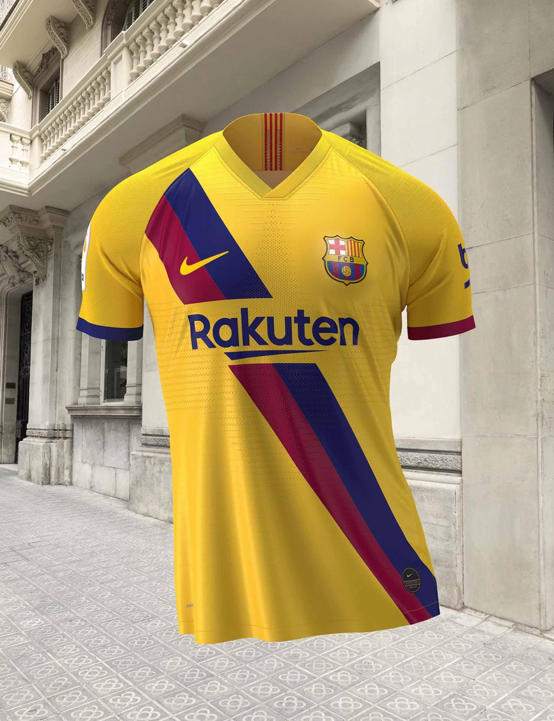 Nike Launch Barcelona 2019 20 Away Shirt Soccerbible