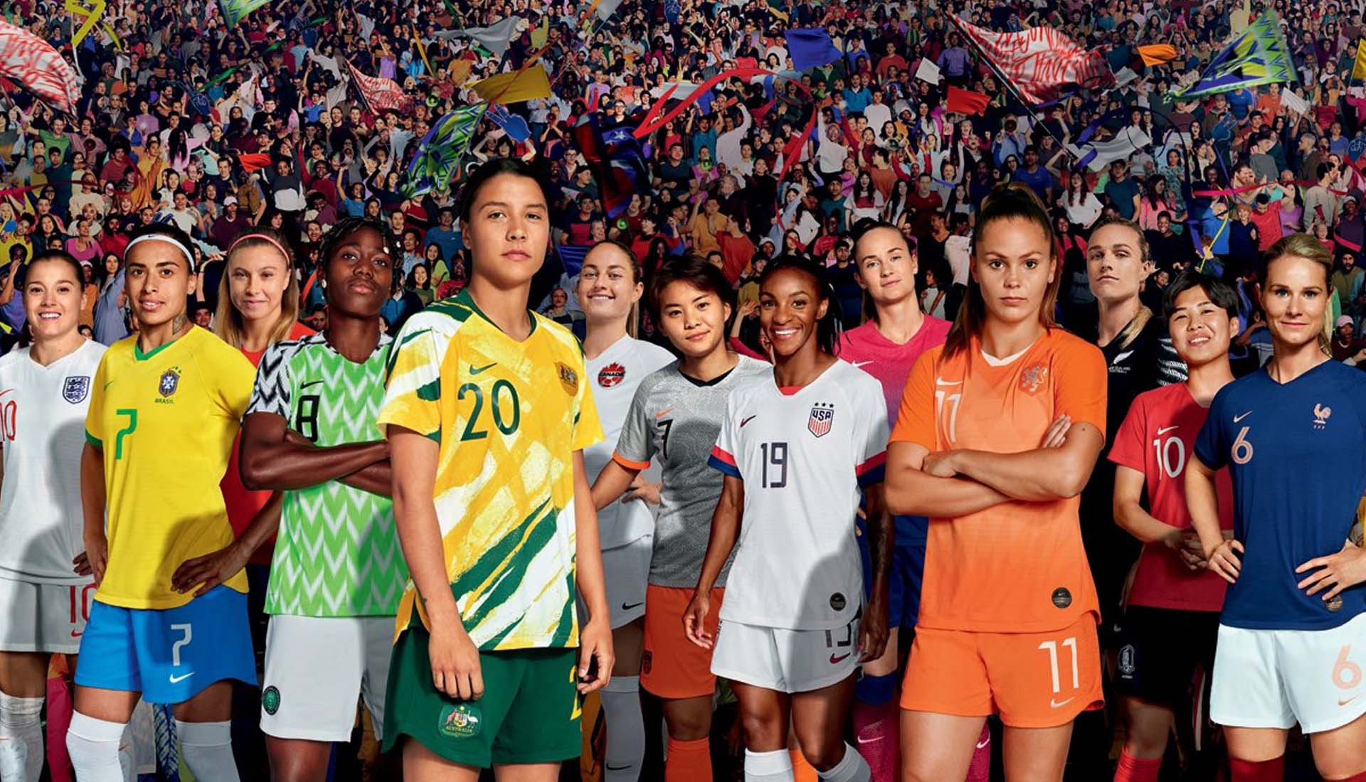 ala Admirable Motear  How Nike Dominated The 2019 Women's World Cup - SoccerBible