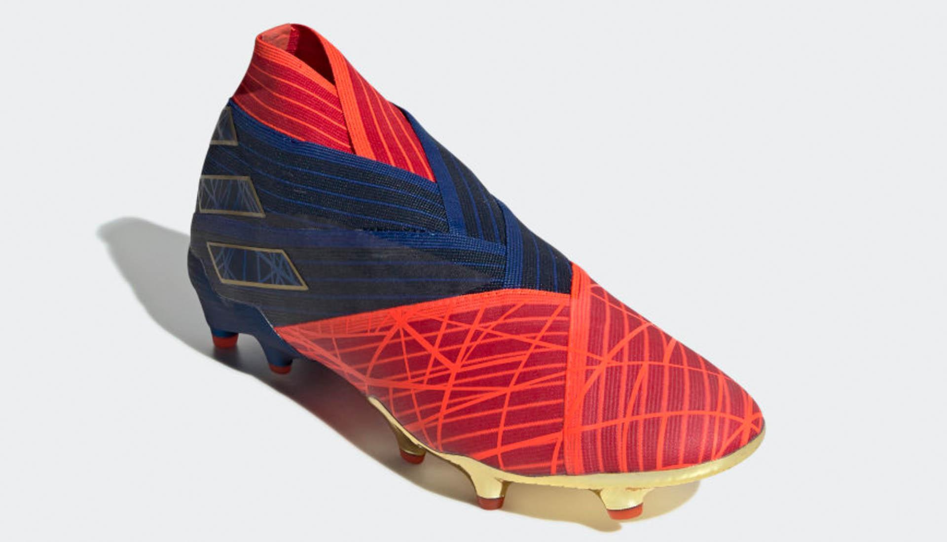 Spiderman Football Boot UNBOXING Adidas Nemeziz 19+ Marvel Edition