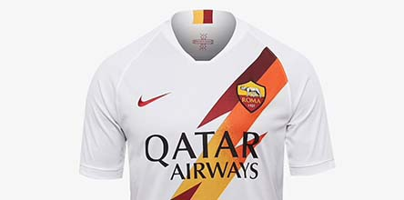 best service 868ea 6ef72 Nike Launch AS Roma 2019/20 Away Shirt - SoccerBible