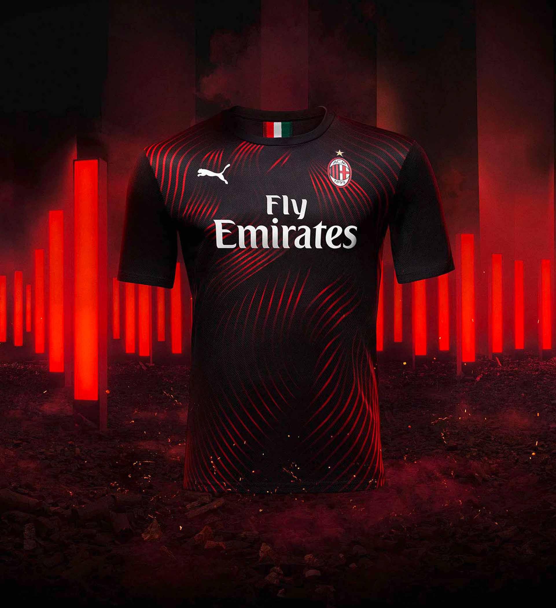 premium selection 07e27 4a1ca PUMA Launch AC Milan 2019/20 Third Shirt - SoccerBible