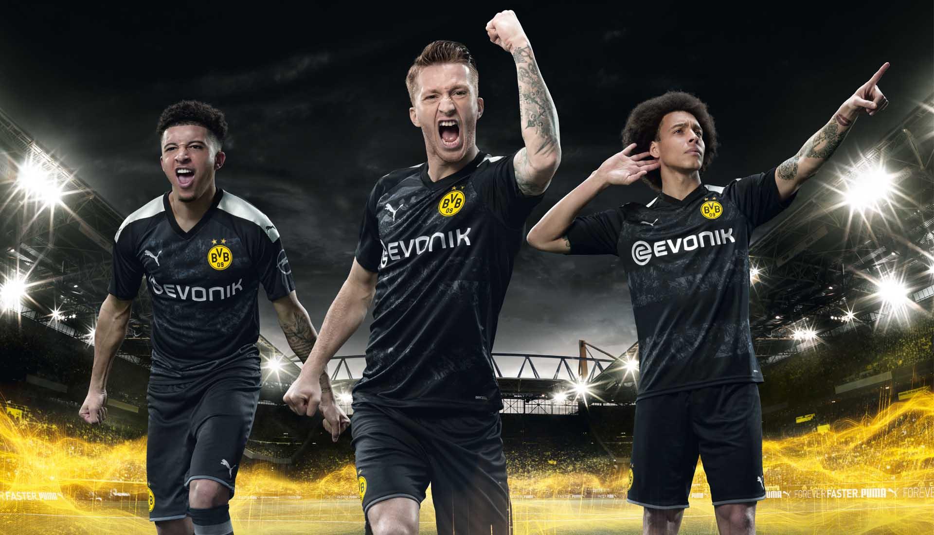 Puma Launch Borussia Dortmund 2019 20 Away Shirt Soccerbible