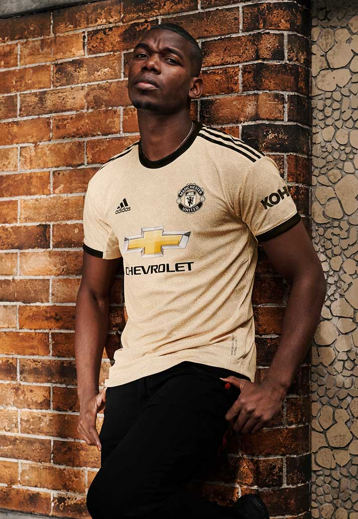 adidas Launch Manchester United 201920 Away Shirt SoccerBible
