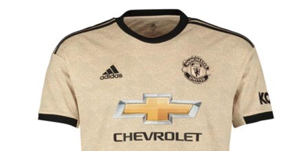 adidas Launch Manchester United 2019/20 Away Shirt - SoccerBible
