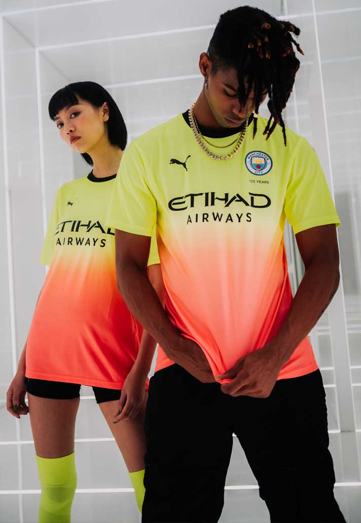 best loved c0848 aee38 PUMA Launch Man City 2019/20 Third Shirt - SoccerBible