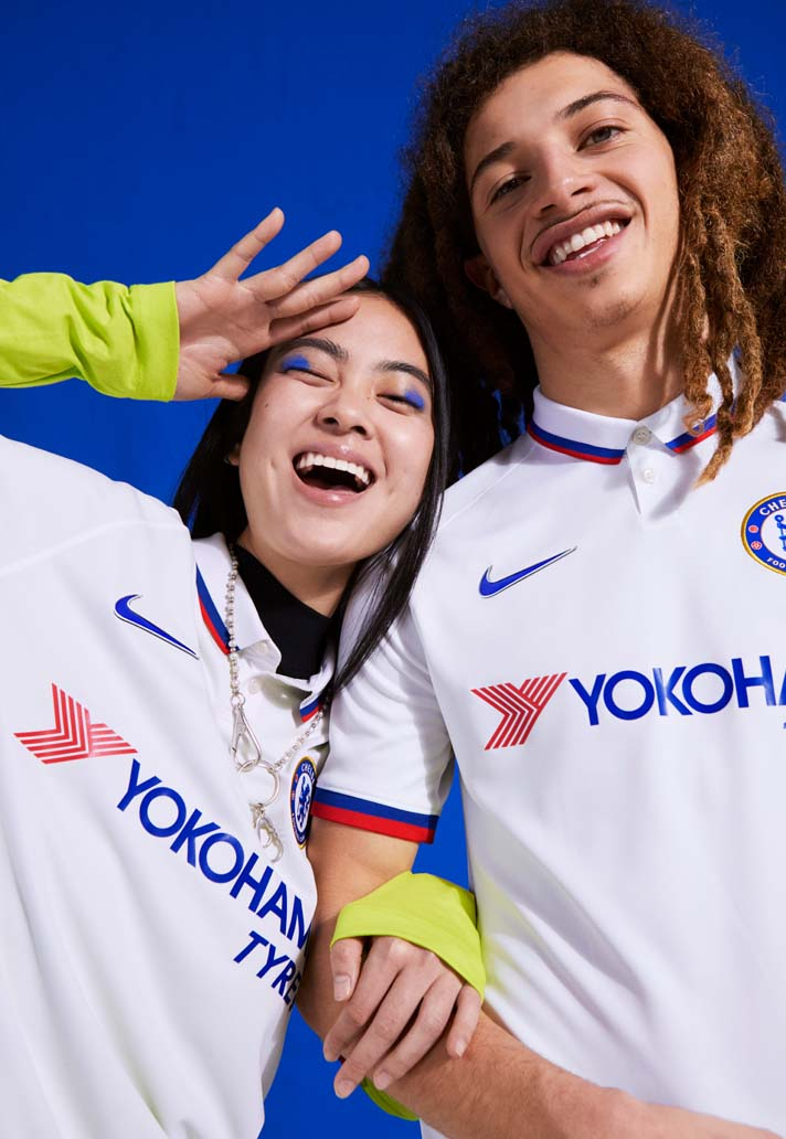 new styles c5c7d 675a8 Nike Launch Chelsea 2019/20 Away Shirt - SoccerBible