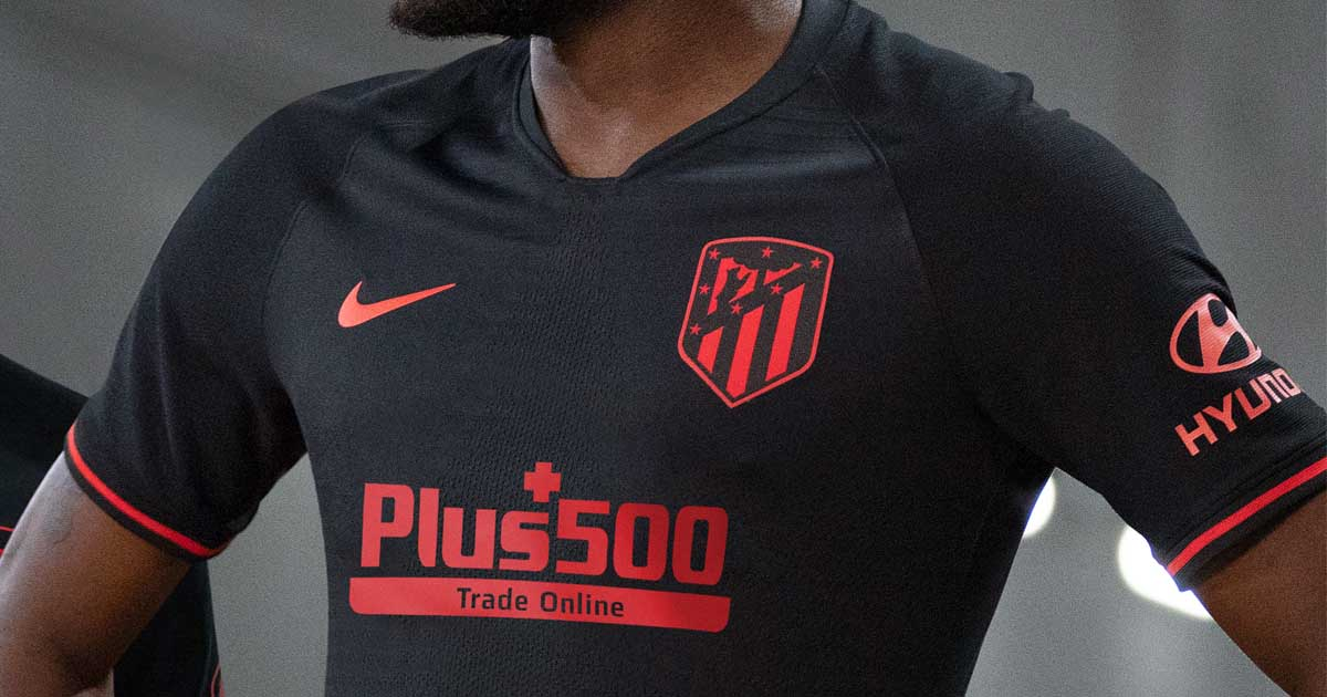 Nike Atletico de Madrid 2019-20 3rd Soccer Jersey