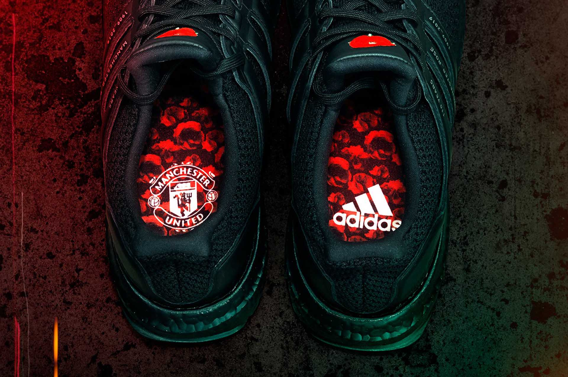 Adidas Reveal Ultraboost X Manchester United Red Rose Soccerbible
