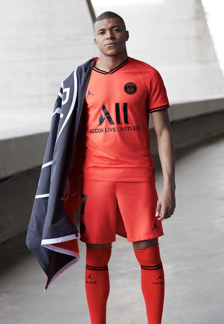 Psg X Jordan Launch 2019 20 Away Kit Soccerbible