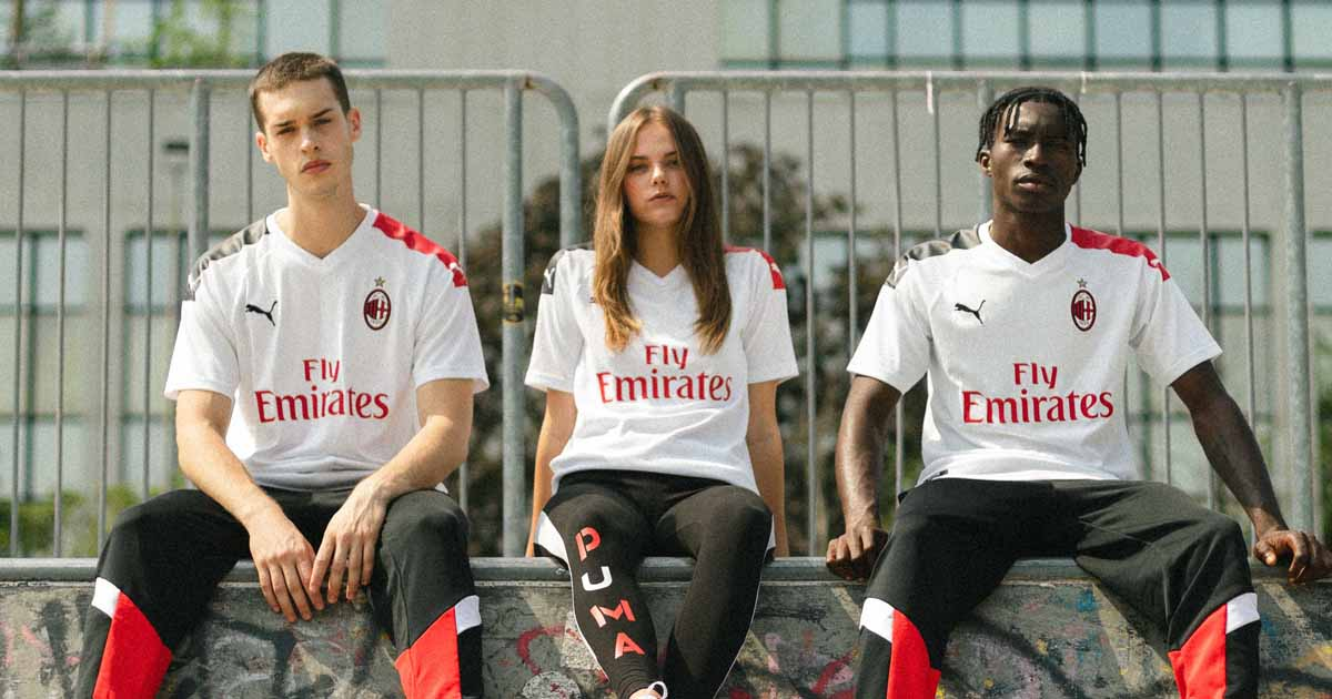 Puma Launch Ac Milan 2019 20 Away Shirt Soccerbible